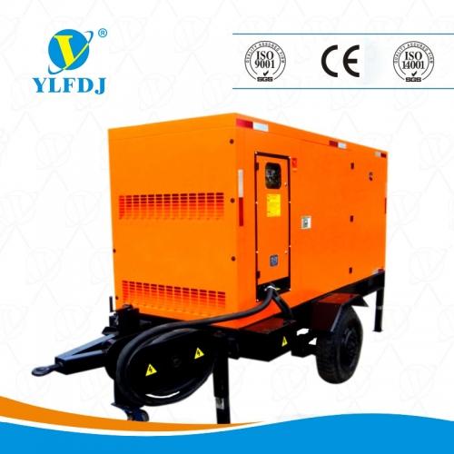 阿拉尔200kw拖车式康明斯静音发电机组